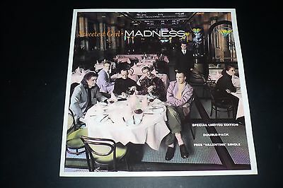 """2x7"""" MADNESS-Sweetest Girl-LIMITED EDITION Double Pack-Stiff-2 Tone-Two Tone"""