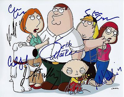 Family Guy - Glossy Photo Print - Cast Signed (Pp)
