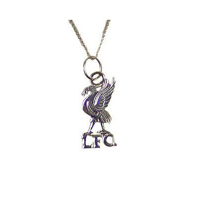 Liverpool Fc 'Lfc' Silver Plated Necklace Pendant Unisex Gift
