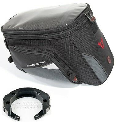 DUCATI MONSTER 696 FROM YR 08 Quick-Lock EVO Trial 22 L Motorcycle Tank Bag Set