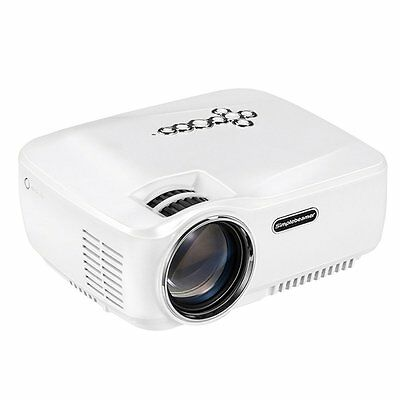Android WiFi Bluetooth Projector,Support 1080P HD,Vivibright Portable Mini LED