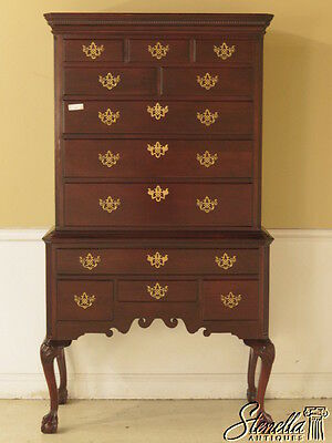 40558E: CENTURY Henry Ford Collection  Mahogany Highboy