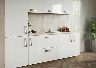 Replacement Kitchen Doors in HIGH GLOSS WHITE