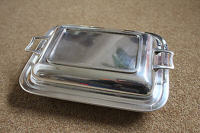 Antique 1920's Percy Nind-Ward EPNS Silver plated Tureen Serving Dish with Lid