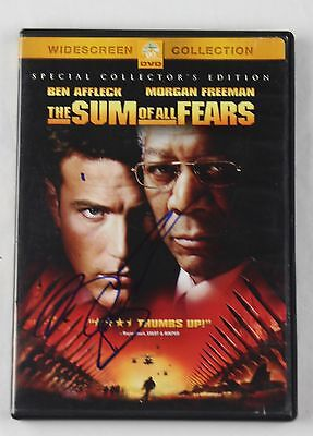 Ben Affleck The Sum of All Fears Signed Authentic Autographed DVD Cover