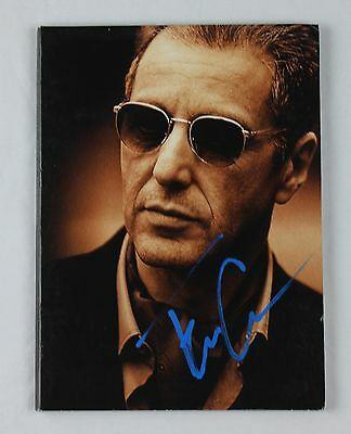 Francis Ford Coppola Godfather Part III Authentic Autographed DVD Cover COA