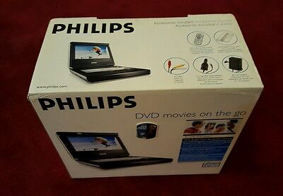 Philips PET720/05 Portable DVD Player