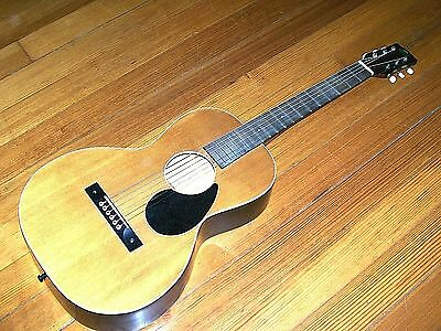Vintage Regal Acoustic Parlor Guitar for Repair Free Shipping USA