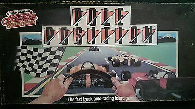 Vintage 1983 POLE POSITION Board Game Parker Brothers Arcade Game Series