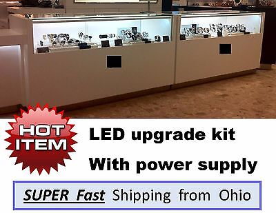 DIAMOND enhancing LED light kits - Jewelry Showcase / Display Case Lights