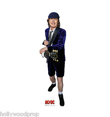 Angus Young Ac / Dc Lifesize Cardboard Standup Standee Cutout Poster Figure New