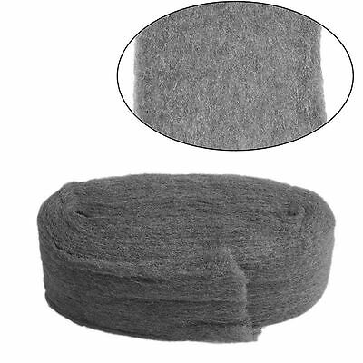 Grade 0000 Steel Wire Wool 3.3m For Polishing Cleaning Remover Non Crumble fg