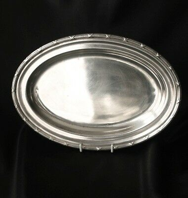 PULLMAN COMPANY Silverplate Oval Server Plate 1929