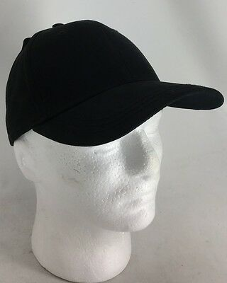 Dri-Duck Hat Headwear Collection Solid Black Cap w Logo Under Bill  Authentic NWT 08972040c37c
