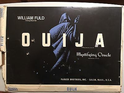 Very Old Antique William Fuld Vintage Ouija Board & I Think It's Possessed