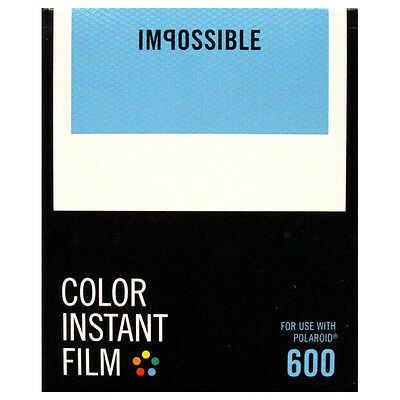 Polaroid 600 Type film Instantané / Impossible 600 film - NOUVELLE VERSION