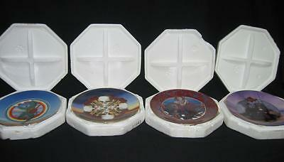 Grateful Dead Stanley Mouse Collection Set of 8 Plates Rose Jester Family Album