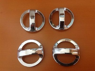 599 VTG Large MidCentury Style Handles In A Stainless Steel. Retro! 33 Available