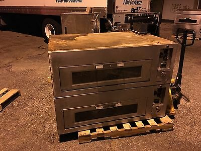 Hobart / Ge Electric Pizza Bakery Restaurant Oven - Double Deck - Send Offer!