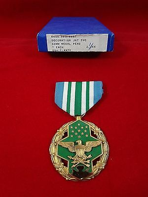 Original U.S Military Joint Service Commendation Medal - Dated 1/65