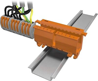 222 Series Mounting Carrier Din Rail Mount Wago