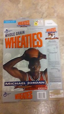 Wheaties Michael Jordan Collectors Edition Cereal Box Series 91 Flattened