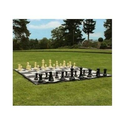 Large Chess Set Garden Giant Game Traditional Play Tallest Waterproof Pieces New