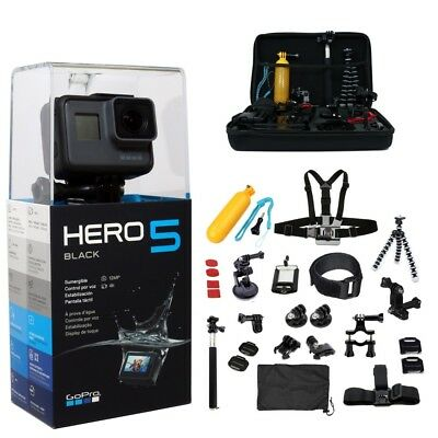 DEAL! Limited Time & Stock: HUGE Kit: GoPro HERO5 Black + 64GB + 45 Accessories!