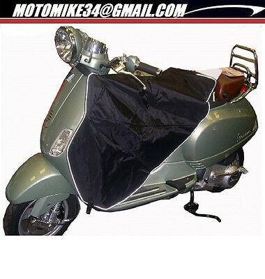 Tablier De Protection 125 Vespa Lx Doublure Chaude Montage Tablier Repliable