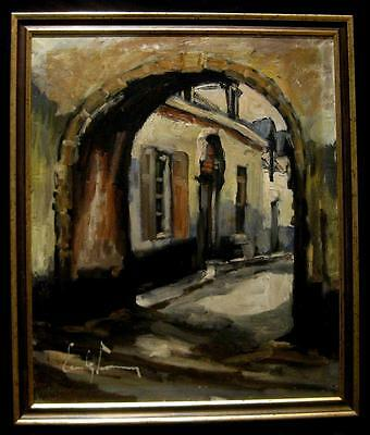 Èmile Lammmers. (1914-90.) Expressionist. Top. Listed.