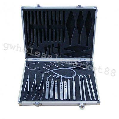 New 21pcs micro instrument set cataract intraocular lens implantation surgery