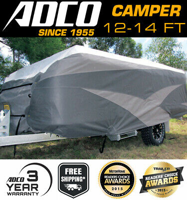 ADCO 12-14 ft Ultra Premium Camper Trailer Cover Suits 3672 - 4284mm lengths