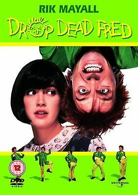 Drop Dead Fred Rik Mayall, Phoebe Cates, Marsha BRAND NEW AND SEALED UK R2 DVD