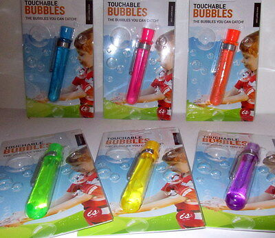 Touchable Bubbles The Bubbles You Can Catch!  Assorted Colours Christmas Gift Bn