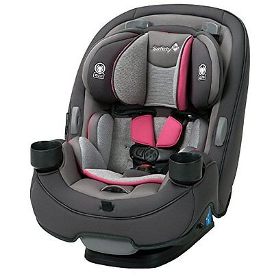 Safety 1st Grow & Go CAR SEAT, 3 In 1 Convertible BABY CAR SEAT, Everest Pink
