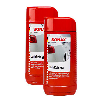 2x SONAX 03022000 LackReiniger Intensiv Politur 500ml