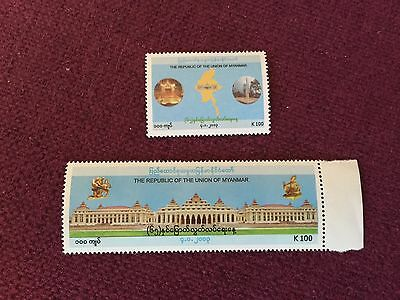 Myanmar Burma 2013 65th Independence Day Stamps MNH