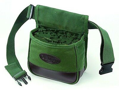 2 COMPARTMENT SHOOTERS CARTRIDGE BAG BELT Shooting Clay Target PIGEON Hunting