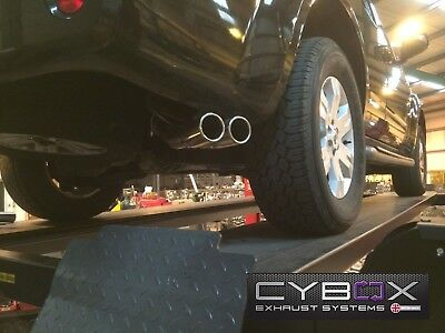 Nissan Navara D40 Stainless Steel Exhaust System
