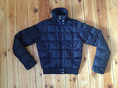 Tommy Hilfiger Girls Blue Puffa Coat Size Xs