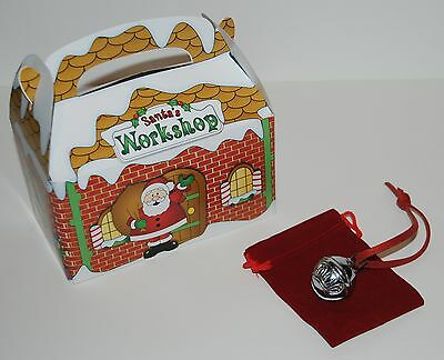 CHRISTMAS SLEIGH BELL Polar Express Like Santa Work Shop Hear The Ringing Bell