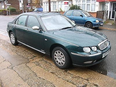 2001 Rover 75 2.5 V6 Automatic Connoisseur. Only 98,000 Miles.