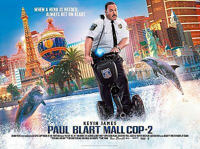 """Paul Blart Mall Cop 2 16"""" x 12"""" Reproduction Movie Poster Photograph"""