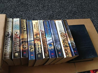 Bernard Cornwell Sharpe's Novel   Collection 10  p/b