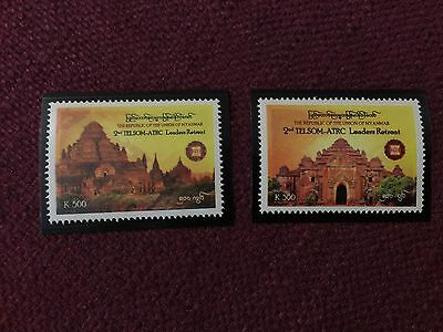 Myanmar 2nd TELSOM ATRC Leaders Retreat Stamp Issue MNH (2 KINDS)
