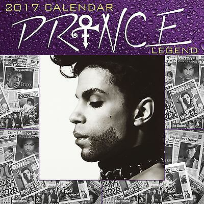 Prince Calendar 2017 with free pull out poster