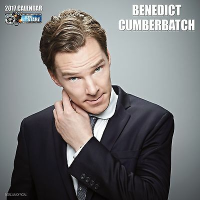Benedict Cumberbatch Calendar 2017 with free pull out poster