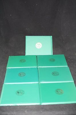 Us Army Presentation Award Folder Military Lot 7Pc Collection Green Original Usa