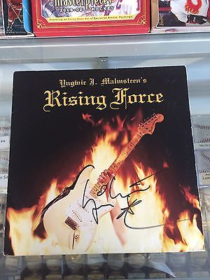Yngwie Malmsteen Autographed Rising Force Album In Person #1