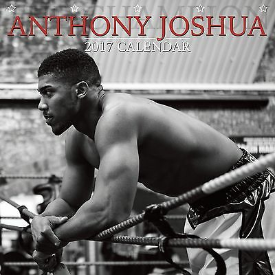 Anthony Joshua Calendar 2017 with free pull out poster